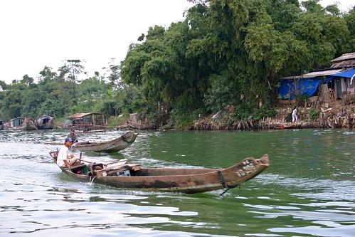 Perfume River, Hué, Vietnam   by Mike Gadd