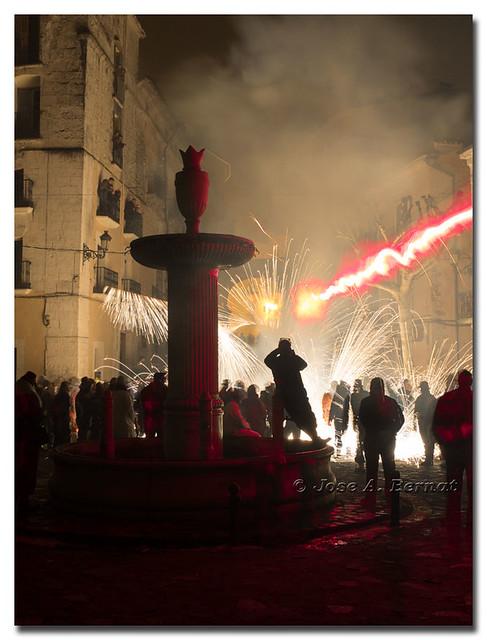 Fiestas de Moros y Cristianos en Bocairent, (Comunidad Valenciana), España