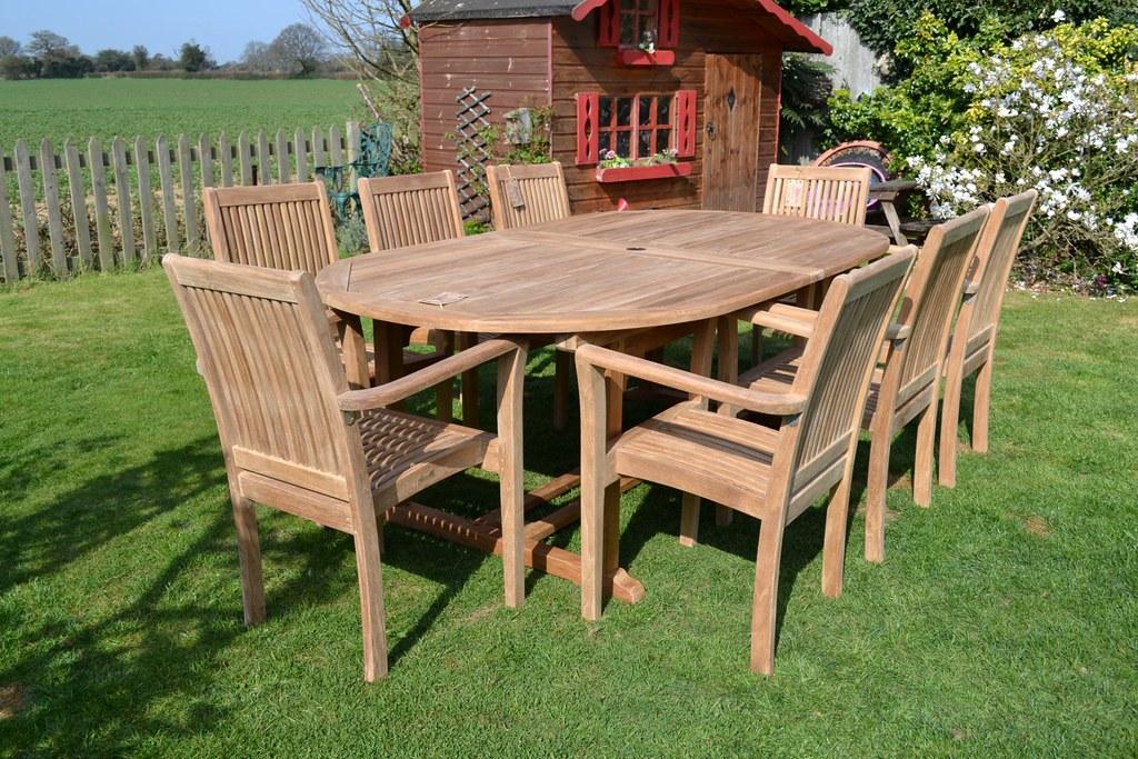 Magnificent Teak Garden Furniture Patio Set Hi Everyone Hope You Like Machost Co Dining Chair Design Ideas Machostcouk