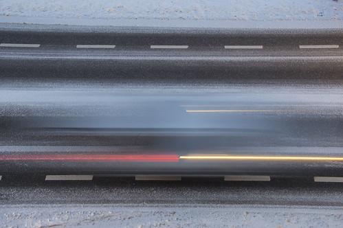 road snow blur car germany motionblur hohndorf 52weeksofphotography