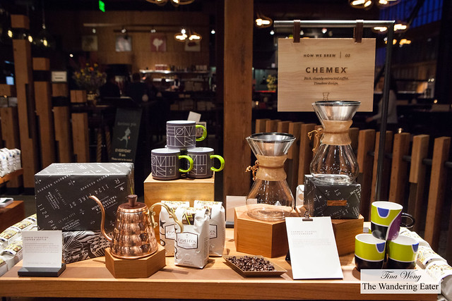 Some of the gorgeous coffee retail items for sale