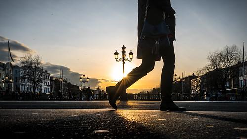 O'Connell bridge - Dublin, Ireland - Color street photography | by Giuseppe Milo (www.pixael.com)
