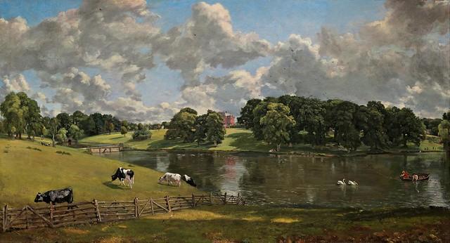John Constable - Wivenhoe Park, Essex (1816)