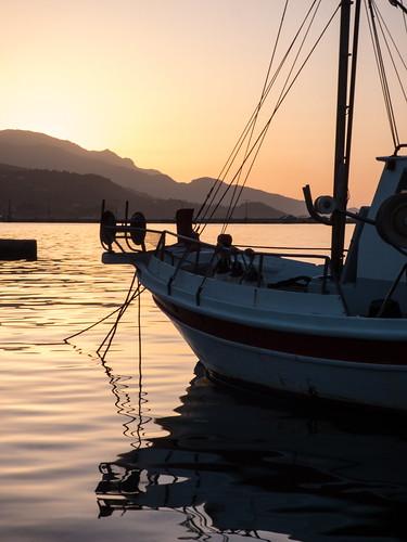 sunrise greece samos