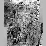 Fri, 04/08/2016 - 2:16pm - Petroglyphs, Indian Hill, Kanopolis Lake 1947f