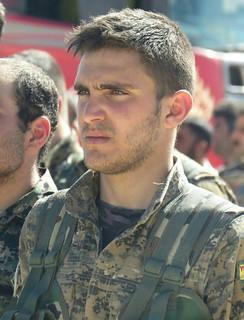 Kurdish YPG Fighter | by Kurdishstruggle