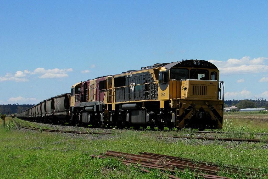 Aurizon - Loaded Coal Service by Shawn Stutsel