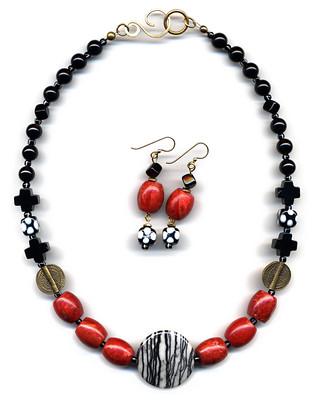 'Oriental Modern' Necklace