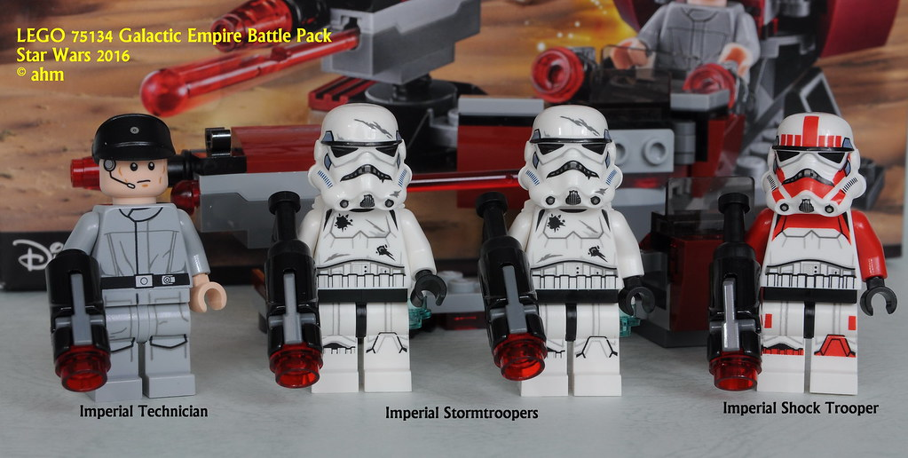 Brand New LEGO Star Wars 75134 Galactic Empire Battle Pack