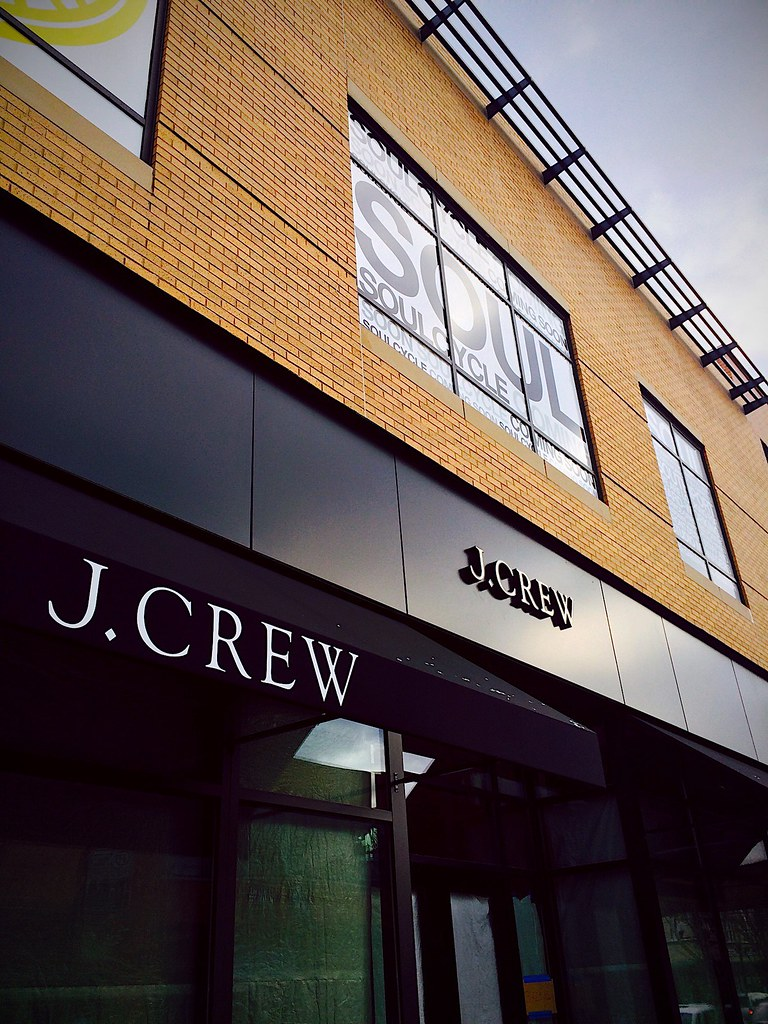 J. Crew and SoulCycle - January 22, 2016