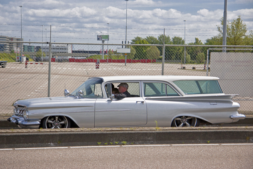 Chevrolet Brookwood 2 Door Station Wagon 1959 5116 Flickr