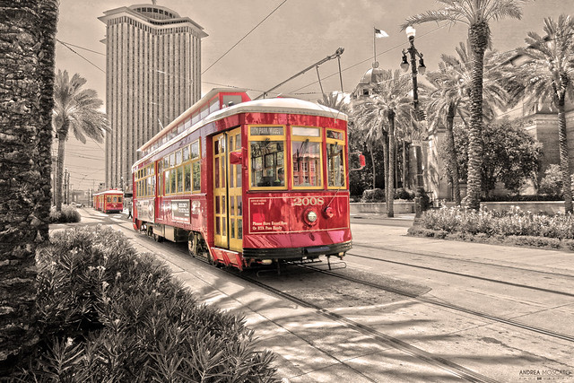 Streetcar In New Orleans - Louisiana