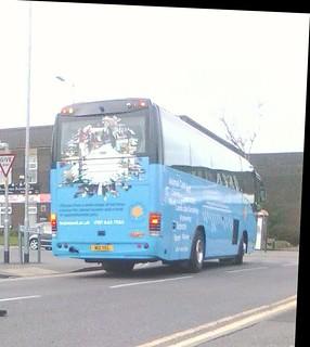 #Yelloway #M12YEL in hopwood hall college free bus livery