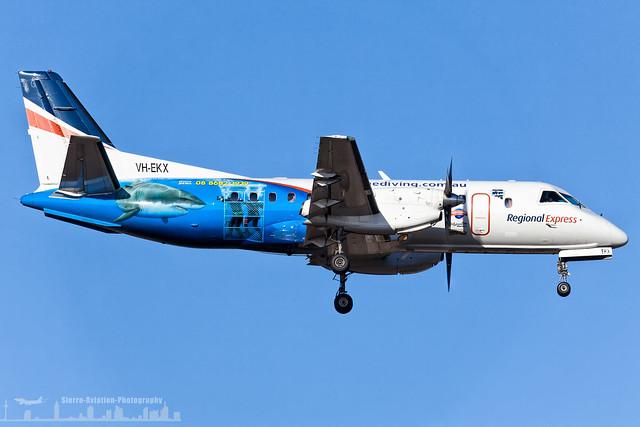 VH-EKX REX (Regional Express) Saab 340B