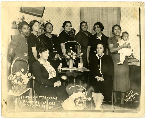 Nine African American women, South Chattanooga Pastors Uni ...