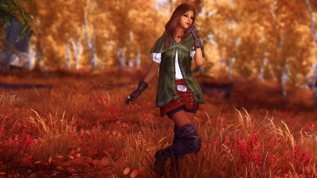 Linkle Outfit | by Gimora: www nexusmods com/skyrim/mods/745