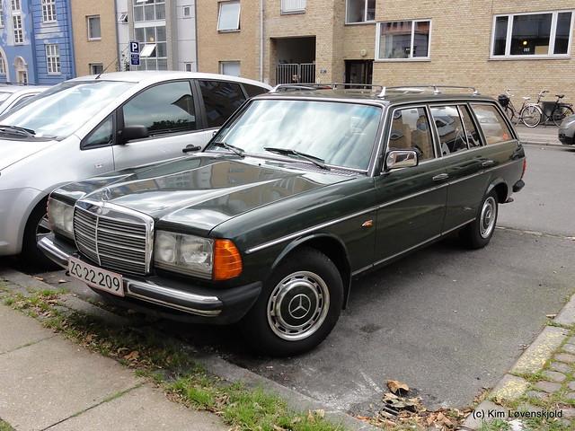 1983' Mercedes 230TE