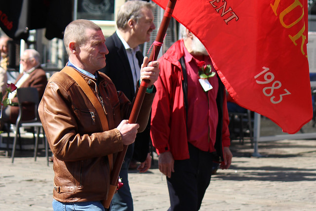 May Day Parade 2016, Korenmarkt, Ghent