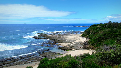 seascape landscape coast scenery shoreline rocky australia coastal norah seashore rugged norahhead peterch51