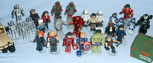MiniMates - Avengers 2