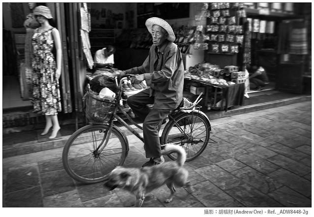獨眼老人與狗