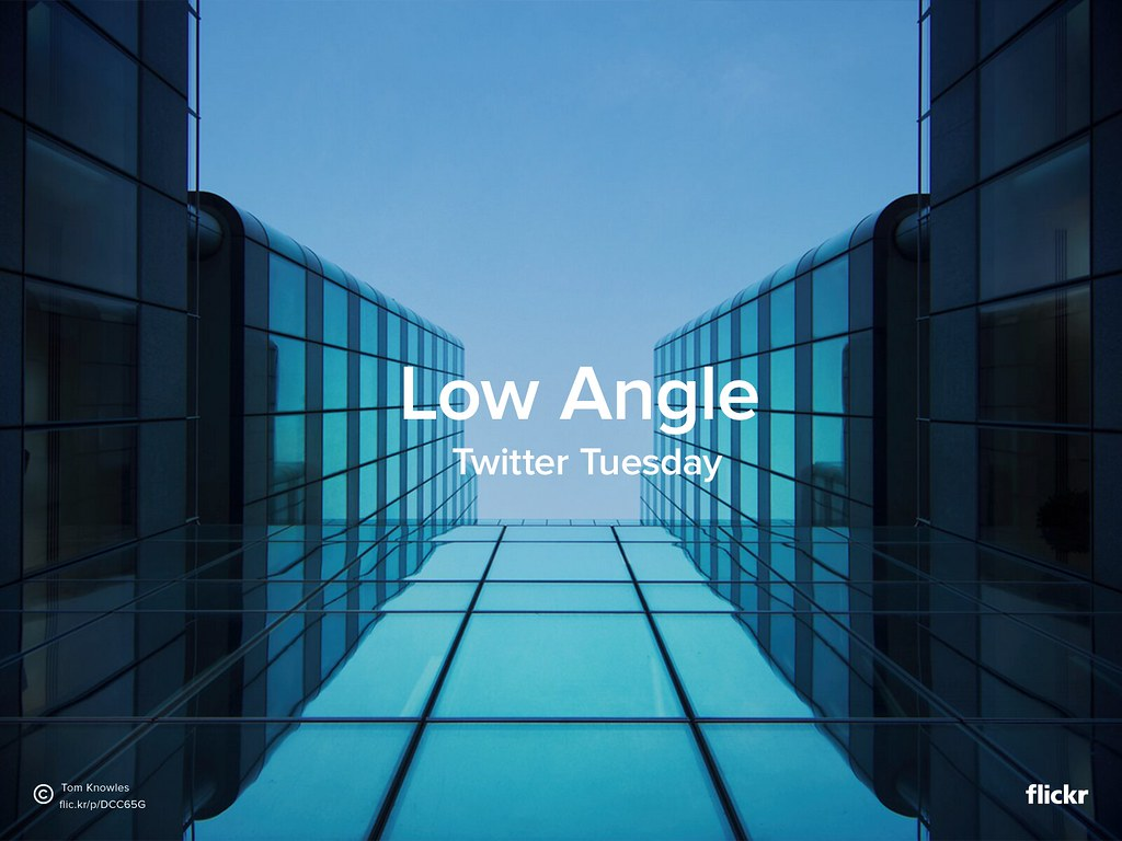 Twitter Tuesday: Low Angle