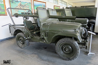 Bangladesh Army RR carrier Willys Jeep M38A1