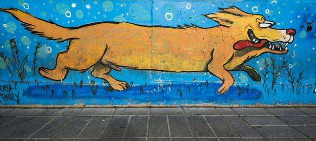 Graffitis en Granada 5.