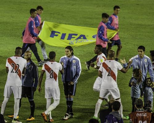Uruguay 1 - Peru 0 | Eliminatorias Rusia 2018 | 160329-9448-jikatu