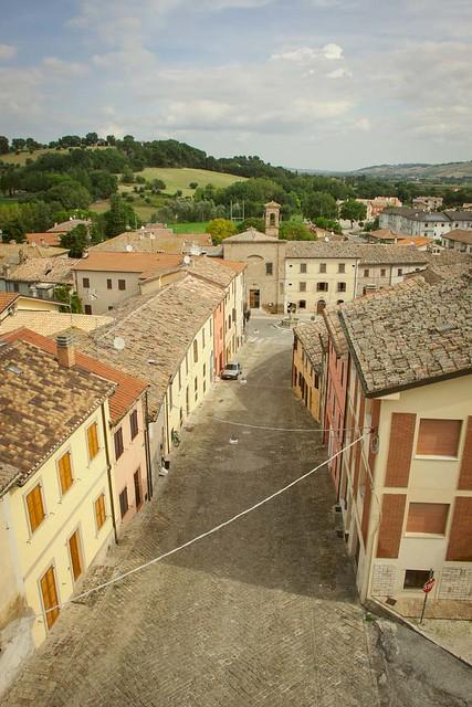 San Lorenzo in Campo - Centro storico