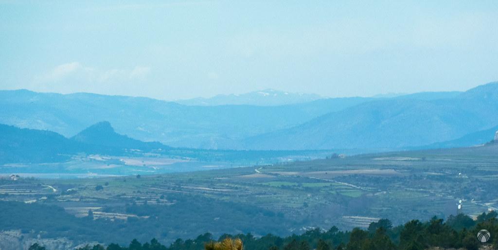 En lontananza se aprecian las nieves de Sierra Seca