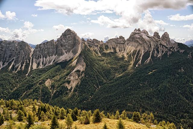 ITALIA - Montanhas ao redor de Cibiana di Cardone
