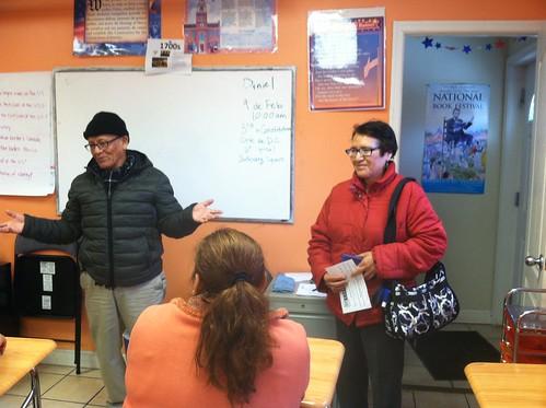 Juana Rosa  and Augurio Nunez visit | by CARECEN DC