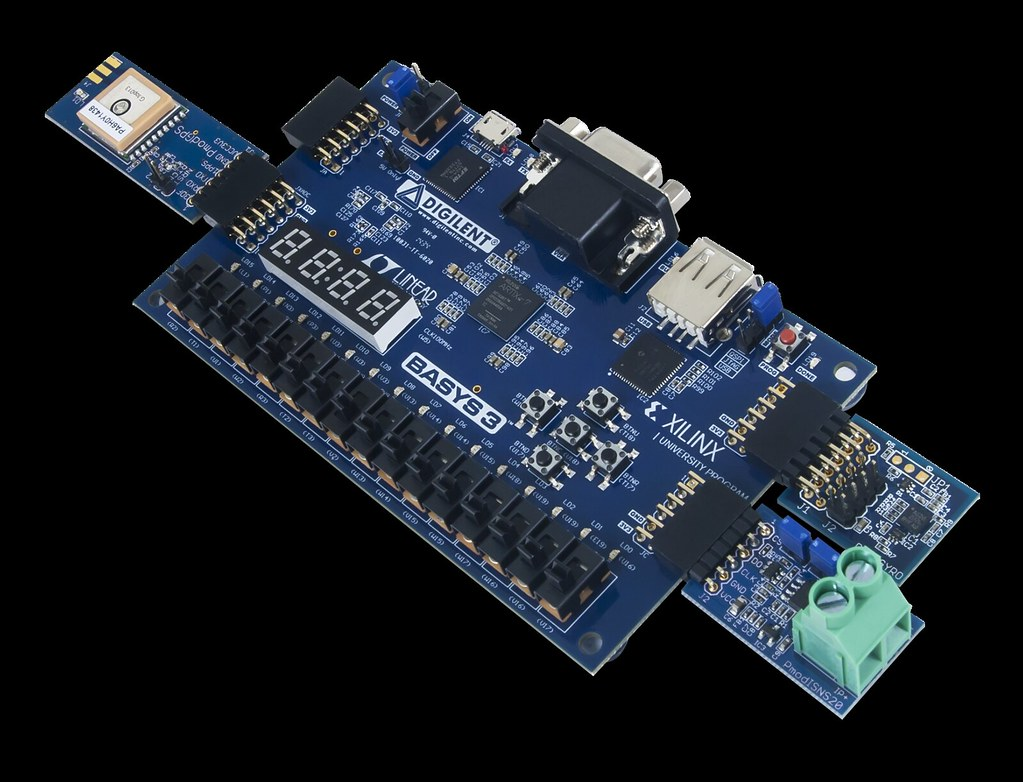 Basys 3 Artix-7 FPGA Trainer Board: Recommended for Introd