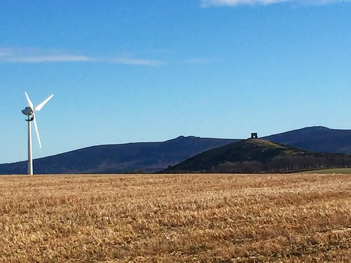 windmill scotland countryside aberdeenshire clearsky insch bennachie dunnydeer