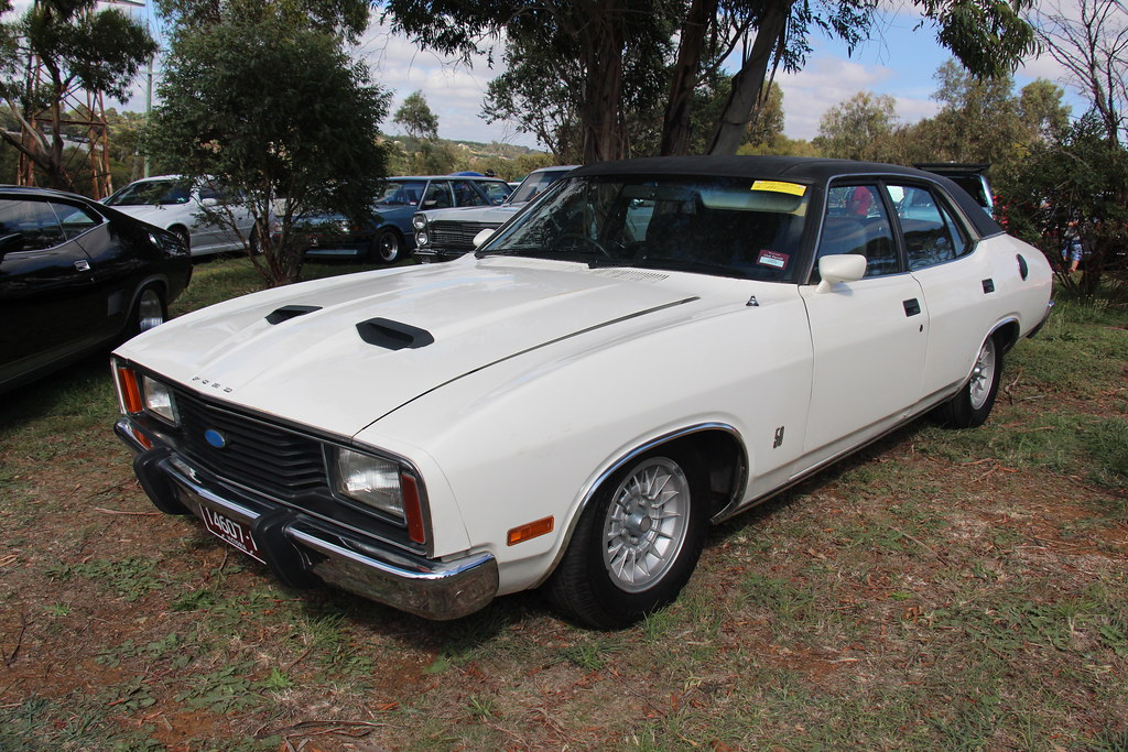 1978 Ford Xc Fairmont Gxl Sedan The Xc Falcon Was Built