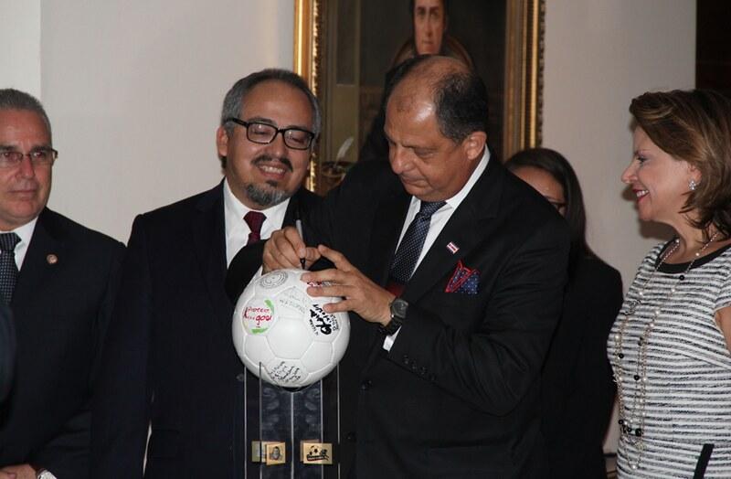 Proteja o Gol na Costa Rica