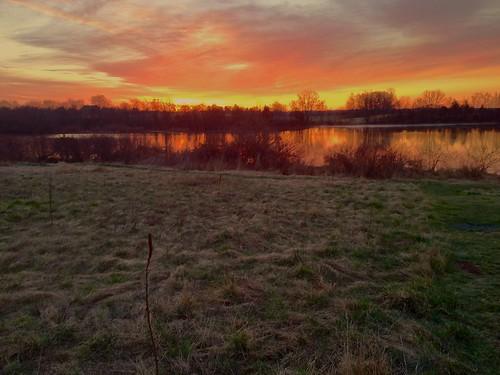 sunrise landscape pennsylvania reservoir pa greenlane countypark churchroad montgomerycounty churchrd greenlanepark importantbirdarea greenlanereservoir churchroadbirdsanctuary