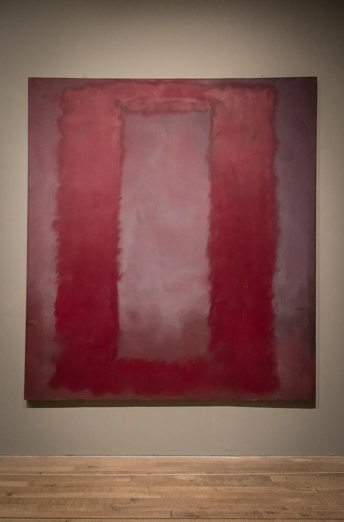 Rothko's 'Red on Maroon' (1959)