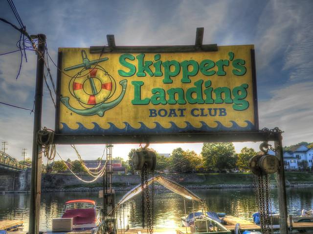 Skipper's Landing on the Beaver River