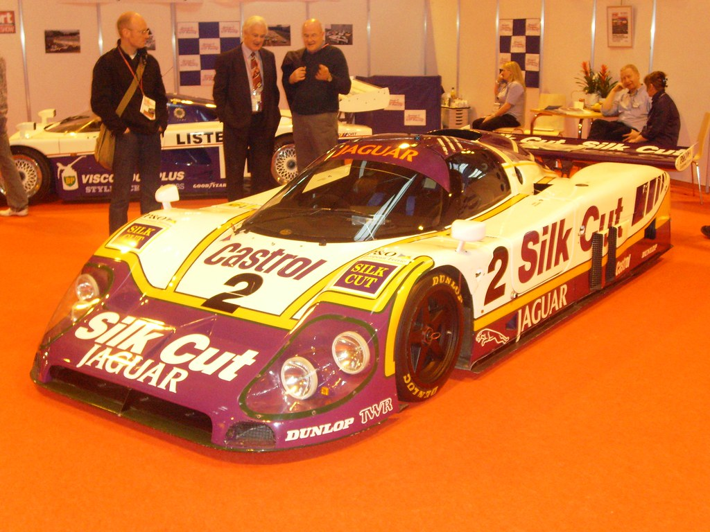 1988 Jaguar XJR-9   Pictured is the actual winning car ...