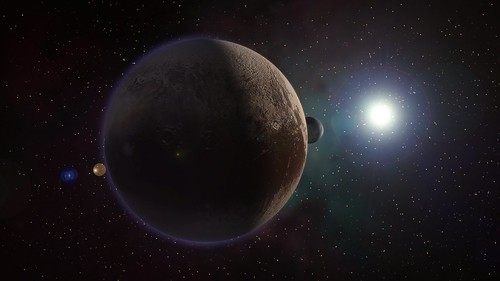 Pluto and Charon | by Kevin M. Gill