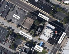GCAA Parking Map