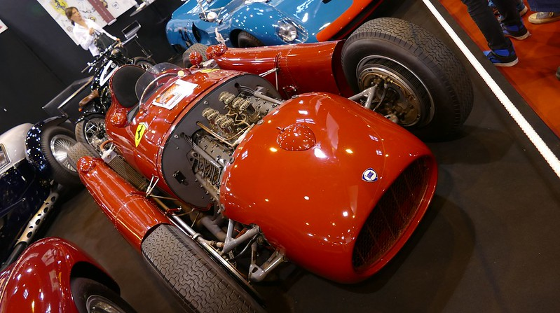 Lancia D50 Formula One 1955 -  Retromobile 2016 - 25024300856_69e4a18692_c