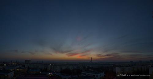 city sunset sky clouds nikon fotograf poland manfrotto kielce nikonflickraward olekgraf