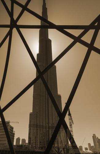 dubai wolkenkratzer burjkhalifa