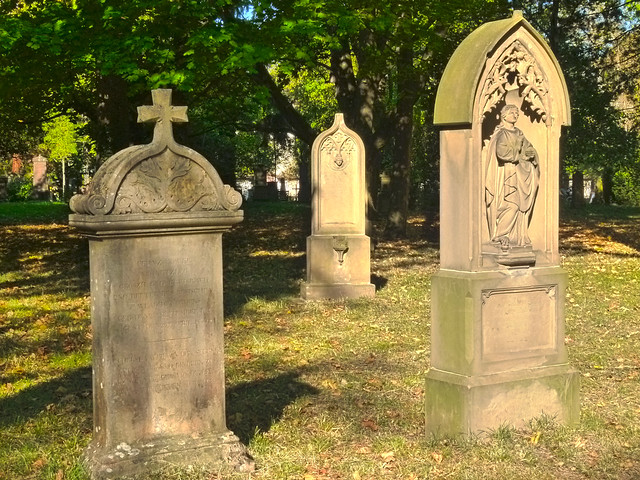 The Ancient City Graveyard of Freiburg 02
