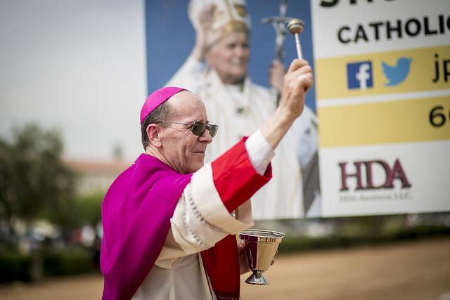 St. John Paul II Catholic High School Ground Blessing