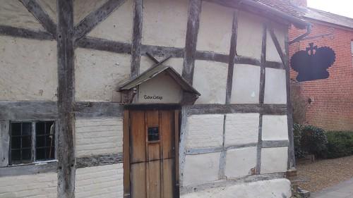 King John's House and Tudor Cottage, entrance SWC Walk 58 Mottisfont and Dunbridge to Romsey