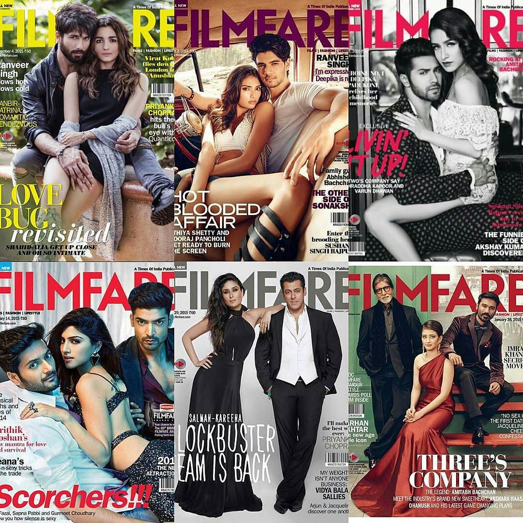 """Image result for 2015 filmfare covers"""""""